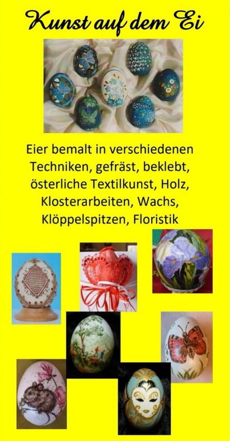 Kunst auf dem Ei